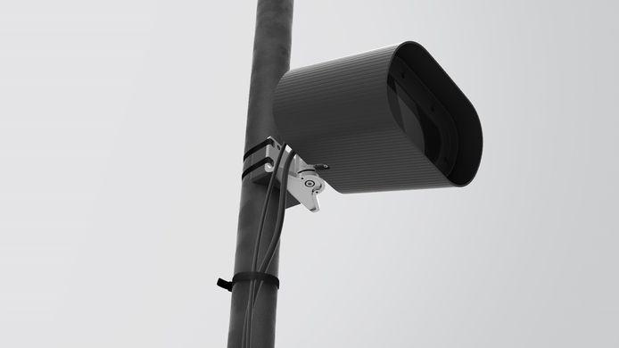 De ANPR-camera's treden in werking.