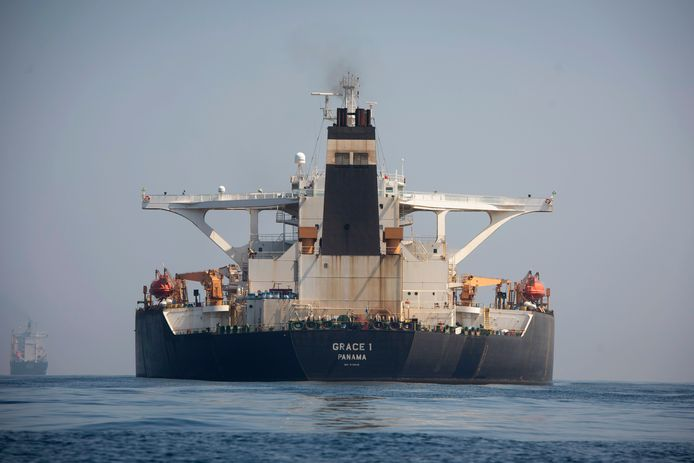 De supertanker Grace 1