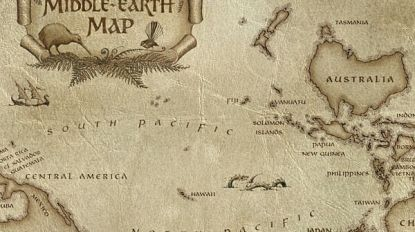 Vaak weggeknipt, dus zet Nieuw-Zeeland zichzelf in midden van wereldkaart