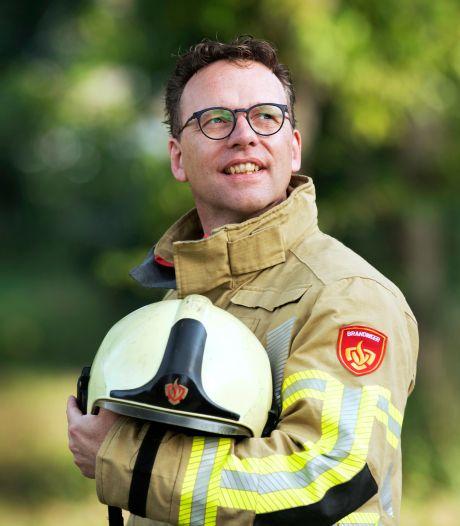 Leon is dominee en brandweerman: 'Soms word ik wel eens vragend aangekeken'