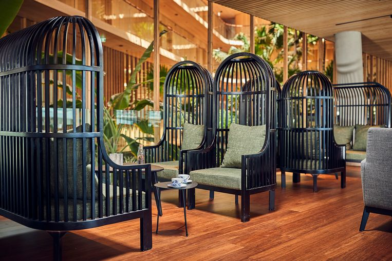Hotel Jakarta in Amsterdam. Beeld Sander Baks