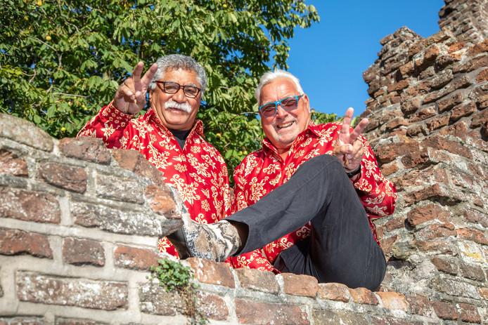 Mick Woearbanaran (links) en Henk Klompenmaker