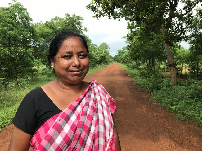 Ranjim Ketwas, een activiste die opkomt voor de rechten van inheemse stammen.  Beeld Aletta André
