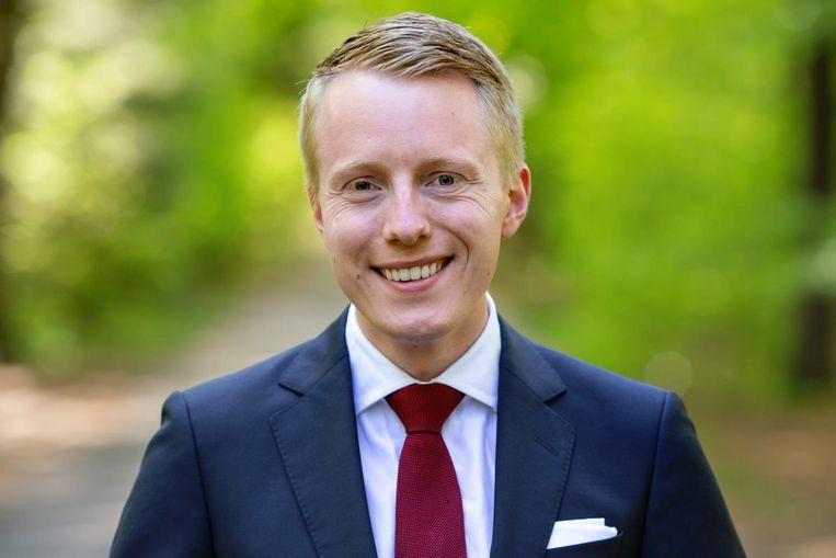 CDJA-voorzitter Tom Scheepstra . Beeld