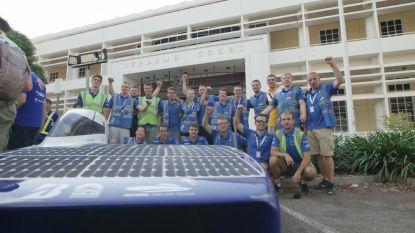 Ingenieursstudenten van KU Leuven voorlopig vierde in Solar Challenge