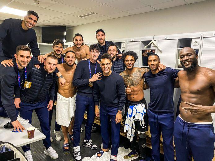 De spelers van Inter kunnen vieren.