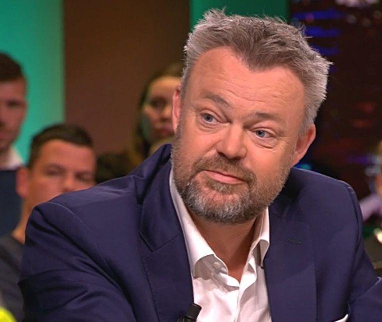 WNL-hoofdredacteur Bert Huisjes.  Beeld