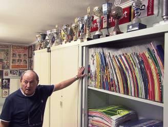 """Eddy toont Luk Alloo zijn collectie wielermemorabilia: """"Binnen een paar jaar moet dat misschien allemaal weg"""""""