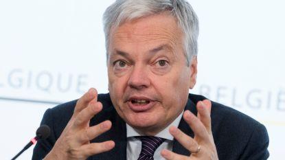 """Reynders na gesprek met Syrische oppositie: """"Inhoudelijke onderhandelingen nodig"""""""