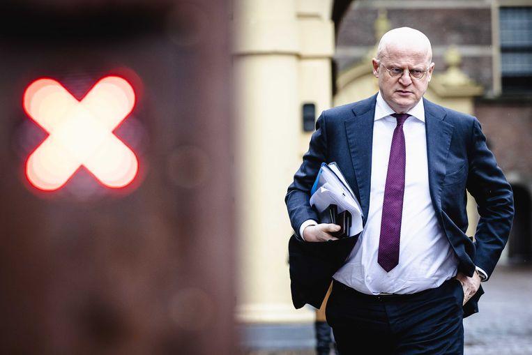 Ferdinand Grapperhaus, demissionair minister van Justitie en Veiligheid. Beeld ANP