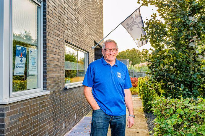 Jaap van Donselaar van het burgerinitiatief Scherpenzeel Zelfstandig.