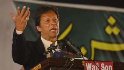 Cricketkampioen Imran Khan wordt nieuwe premier Pakistan