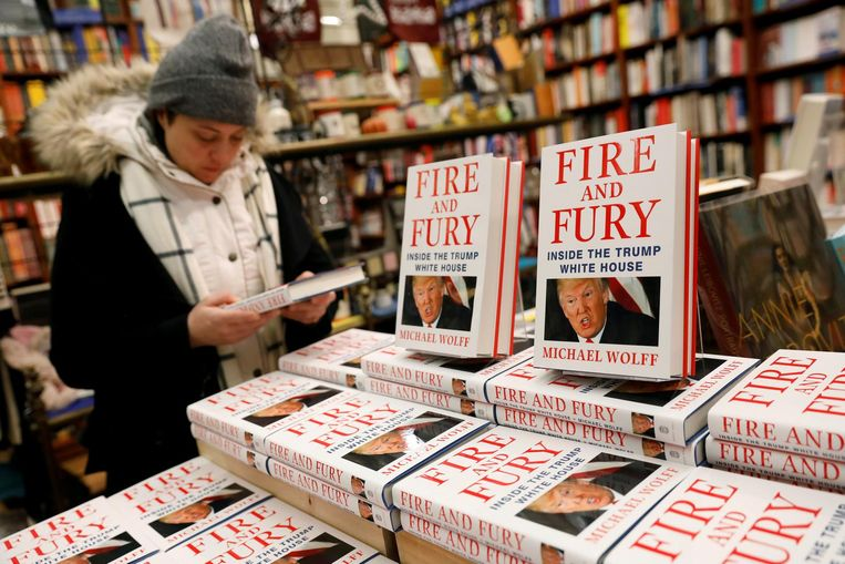 Fire and Fury in de Amerikaanse boekhandel Beeld reuters