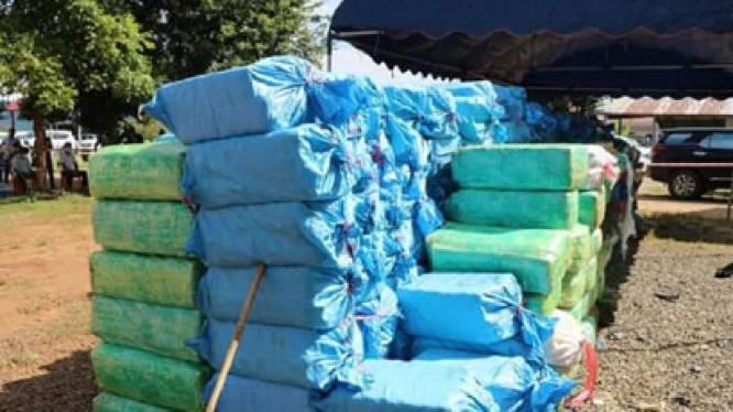Grootste drugsvangst in Azië: politie van Laos treft meer dan 55 miljoen meth-pillen en 1,5 ton crystal meth aan