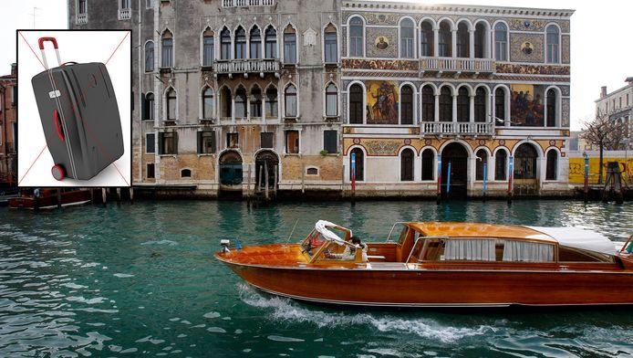 Venetië: vanaf mei volgend jaar verboden voor rolkoffers.