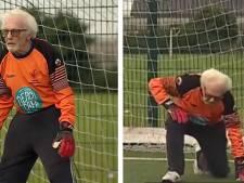 """Un gardien gallois joue toujours au football à 88 ans: """"J'ai évolué avec trois générations"""""""