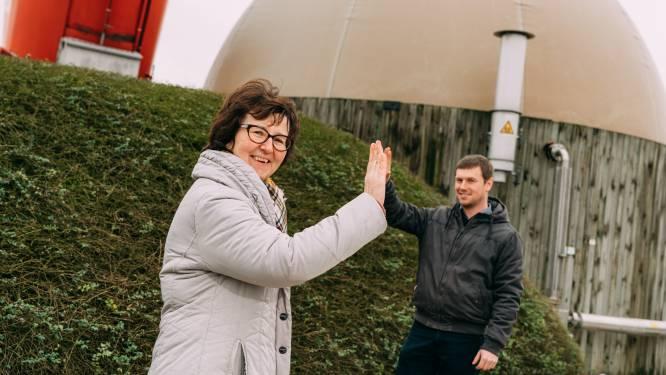 Biogasinstallatie Inagro voorziet 25 gezinnen van groene stroom