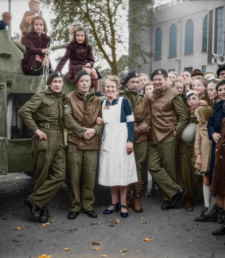 De bevrijding van Tilburg herleeft levensgroot,  en in kleur