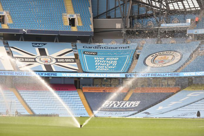 Het Etihad Stadium van Manchester City.