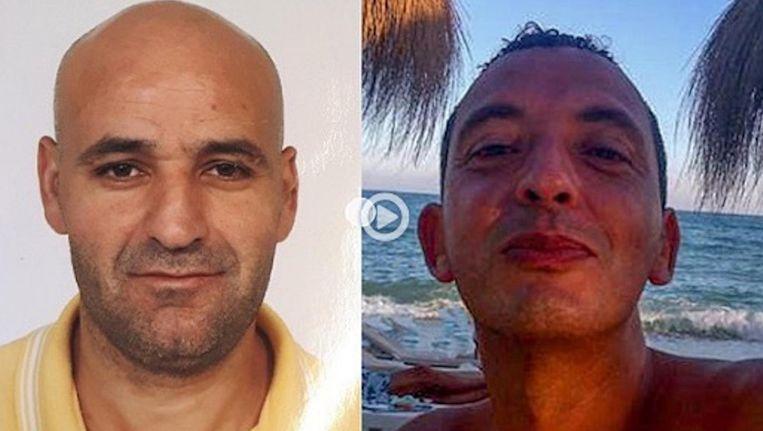Links Said Razzouki en Ridouan Taghi rechts. Beeld Opsporing Verzocht