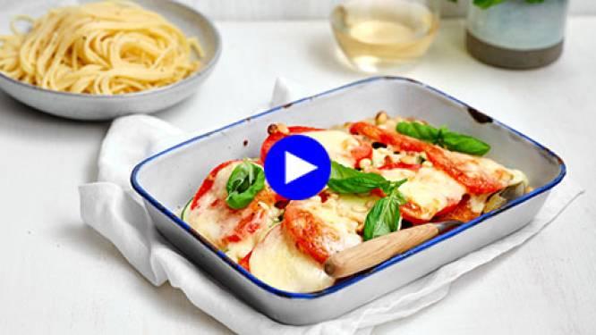 Creatief combineren: spaghetti met een schnitzeltwist