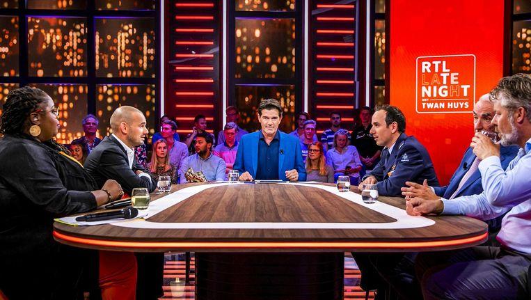 RTL Late Night met Twan Huys. Beeld RTL 4
