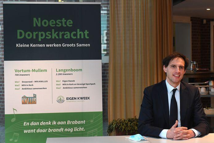 CDA minister Wopke Hoekstra in Knillus in Vortum-Mullem