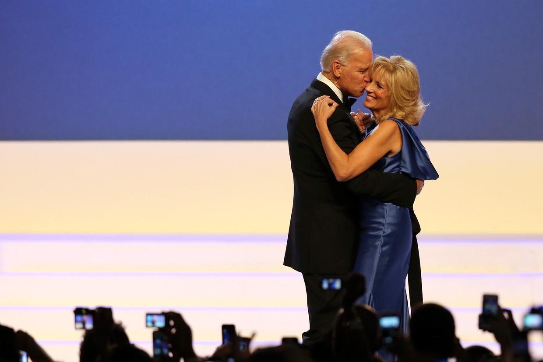 Joe en Jill Biden. Beeld Getty Images