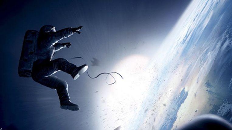 Alfonso Cuaróns Gravity. Beeld