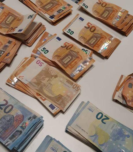 Geld en drugs gevonden bij aanhouding mogelijke dealer in Breda