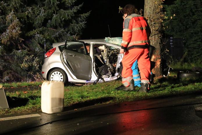 Zwaar ongeval op Langstraat (N270) in Deurne.
