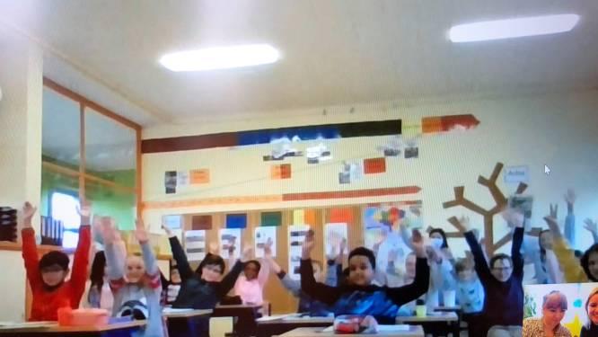 Vijfde leerjaar 't Vlasbloempje uitgeroepen tot Sterrenklas 2020