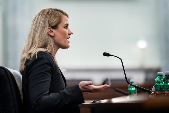 Haugen getuigde deze week tijdens een hoorzitting in het Amerikaanse Congres.