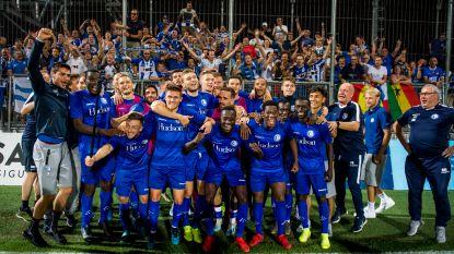 Opdracht volbracht: Gent ziet Plastun snel gelijkmaken en haalt na zes duels de groepsfase