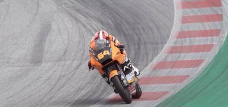 Motorcoureur Bendsneyder crasht in Portugal