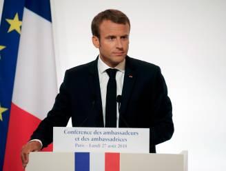 """Macron: """"EU kan niet langer alleen op VS steunen wat betreft beveiliging"""""""