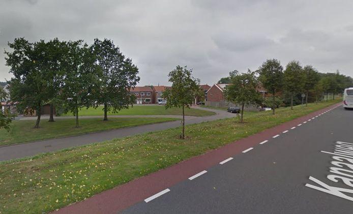 Hier komt het nieuwe luchtmeetpunt in Sluiskil: aan de Middenstraat-Stroodorpestraat, vlakbij het Kanaal Gent-Terneuzen.