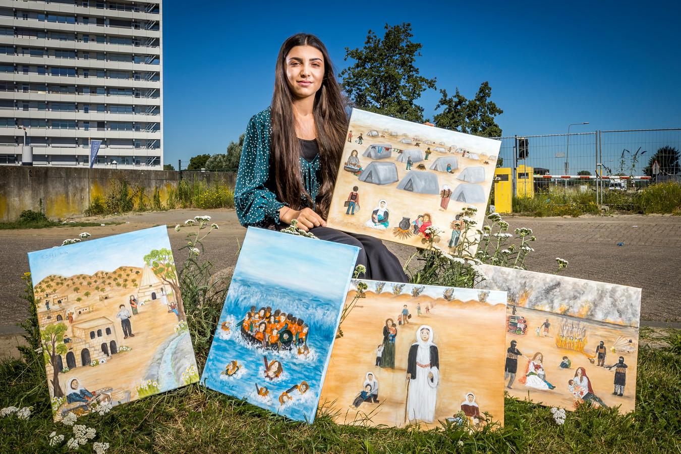 Holya Khalaf: ,,Iedere dag in het kamp voelde als een jaar.''