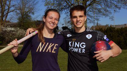 Topsporters broer Daan en zus Elien Vekemans trachten coronacrisis zinvol door te komen