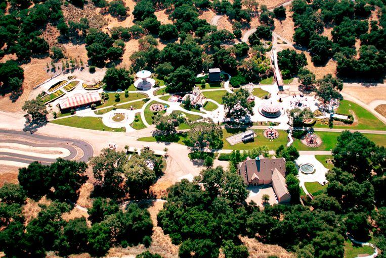 Michael Jackson kocht Neverland in 1987 voor 19,5 miljoen dollar. Beeld AFP
