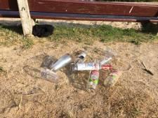 Illegaal feest met 70 personen in bos bij Ambt Delden beëindigd