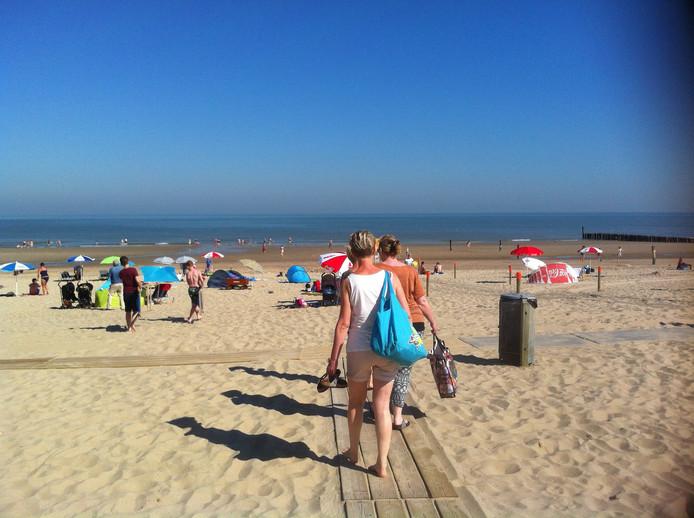 Strand Domburg, 10.30 uur