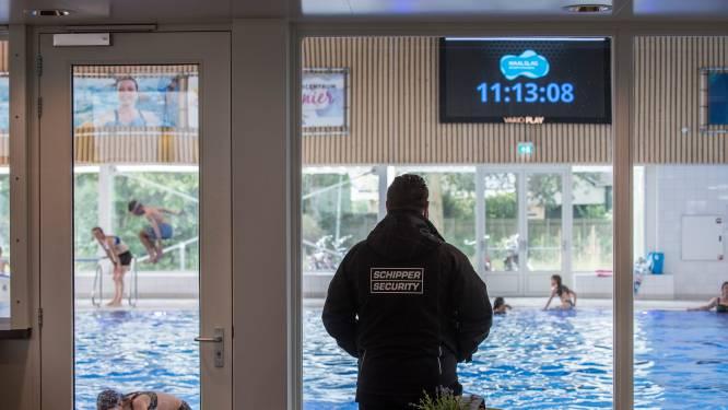 Beveiliger brengt de rust terug in dit zwembad in Tiel: 'Het is natuurlijk diep triest'