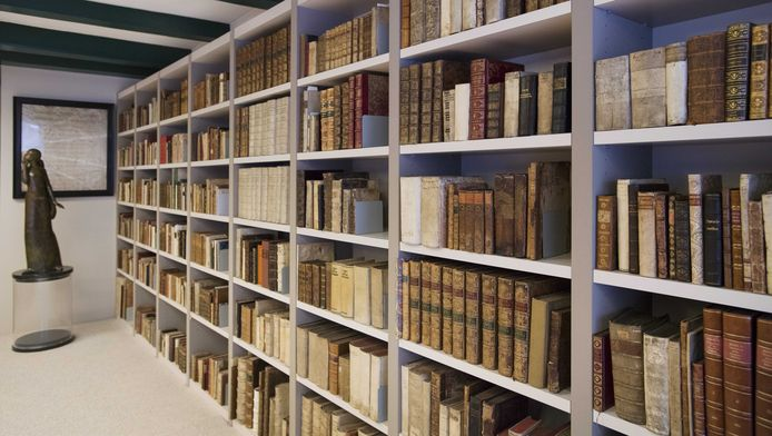 De Ritman bibliotheek in Amsterdam.
