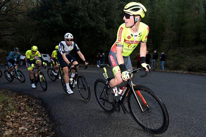 Milan Menten start met een pijnlijke knie in Le Samyn.