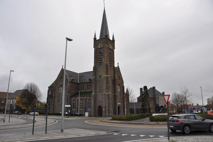 Sint-Amanduskerk Kerkhove Avelgem.