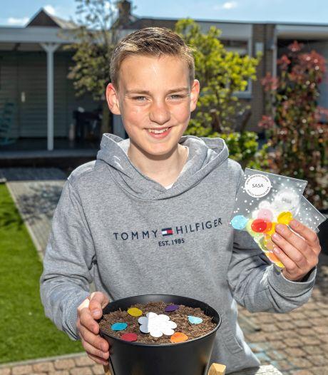 Ondanks overlijden van juf start Sam (12) nieuwe actie voor ALS: 'Misschien kan ik anderen wél redden'