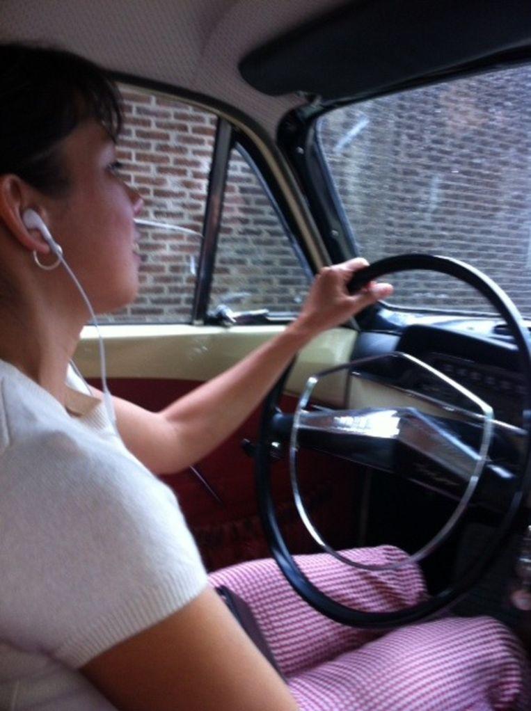 Onderweg naar de Erasmus Universiteit Beeld Mei Li Vos