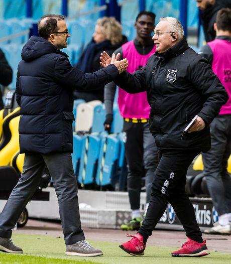 'Toen ik begon had VVV twaalf punten meer dan Willem II; nu staan we gelijk'