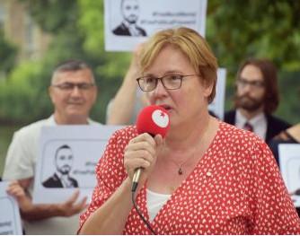 Jannie Visscher, de nieuwe voorzitter van de SP